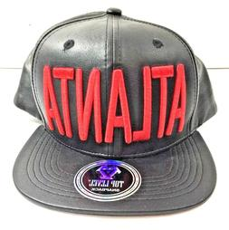 Top Level Snapback Hat Atlanta Baseball Cap New with Tags