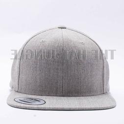 Yupoong Snapback Hat Plain 6089M Classic Flexfit Baseball Ca