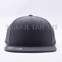 snapback hat plain 6089m classic flexfit baseball