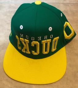 Zephyr Snapback Oregon Ducks Green & Yellow Baseball Hat Cap