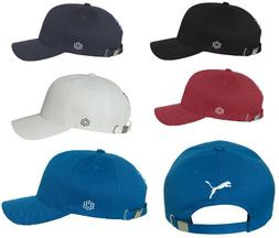 PUMA SOCCER Cat Logo Cotton Baseball Cap Structured Relaxed
