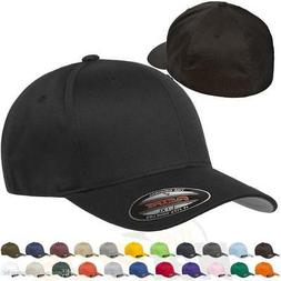 ss Original Flexfit Fitted Baseball Hat 6277 Wooly Combed Tw