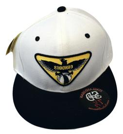 Stall & Dean Mens Condors Fitted Baseball Cap Hat New 7 1/4,
