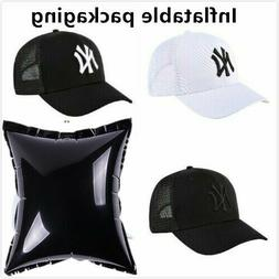 Summer Breathable Mesh NY New York Yankees Hat Sport Basebal
