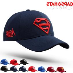 Superman Baseball Cap For Adult Gorras Hombre Bone Snapback