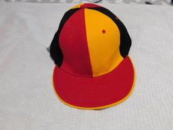 City Hunter sz. L-XL Red Black Yellow Baseball Hat Cap NWT,