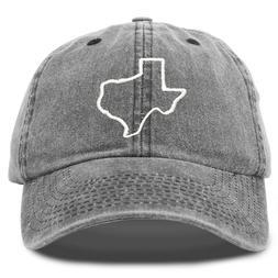 DALIX Texas Hat Lone Star State Mens Womens Baseball Cap Was