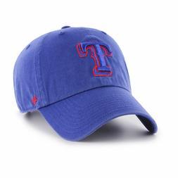 Texas Rangers MLB Tonal Pop '47 CLEAN UP Royal Blue Cap Hat