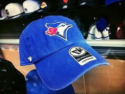 47 Brand Toronto Blue Jays Clean Up MLB Baseball Dad Hat Str