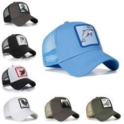 Trucker Farmer Casual Baseball Cap Hat Adjustable Sports Ani