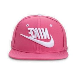 Nike True Cap Futura Snapback Hat Pink  White Sports Running