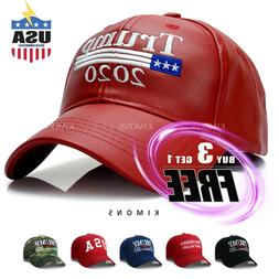 Trump Baseball Hat Cap Make America Great Again 2020 Flag PU