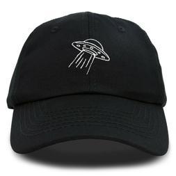 DALIX UFO Hat Dad Baseball Cap Extraterrestrial Spacecraft S