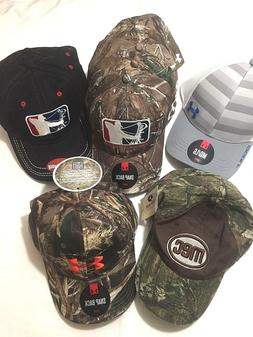 Under Armour Baseball Hats - You Pick - Stretch Fitted Camo
