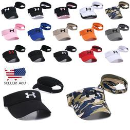 Under Armour Sun Visor Stretch Fit Golf Baseball Cap Embroid
