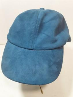 CHATTIES Unisex Baseball Cap Hat Blue / Green One Size Adjus