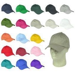 DALIX Baseball Cap Dad Hat Plain Men Women Cotton Adjustable