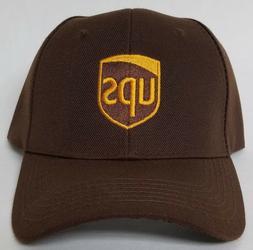 UPS Embroidered Adjustable Strap Baseball Hat / OSFM / Avail