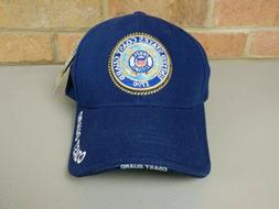 US Coast Guard Baseball Ball Cap Hat Blue Rapid Dominance St