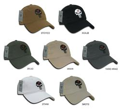 US Navy Seals Punisher Skull Baseball Cap Hat Various Colors