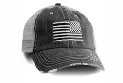 Honor Country USA American Flag Baseball Cap