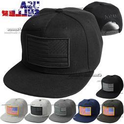 USA Baseball Cap Embroidered American Flag Hat Snapback Adju