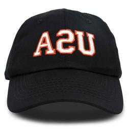 DALIX USA Baseball Cap Flag Hat Team US America Navy Red Whi