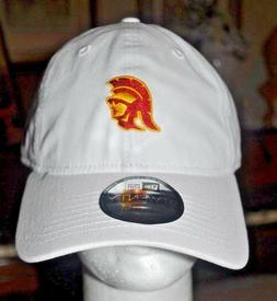 USC NEW ERA WHITE USC ADULT Trojans Baseball cap Hat 9twenty