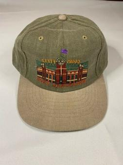 Vintage Coors Field Inaugural Year Adjustable Baseball Cap H