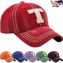 Vintage Distressed Hat Baseball Cap - T - Texas - KBETHOS