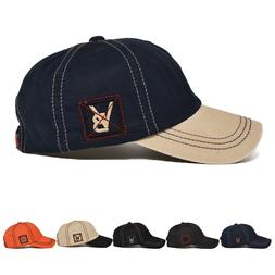 VOBOOM Vintage Mens Baseball Cap Trucker Hat Cotton Adjustab