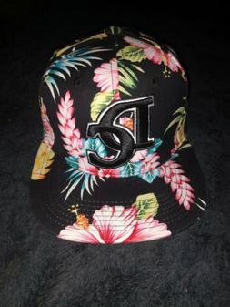 Washington DC Ultimate Fitted Baseball Cap Floral Hat City H