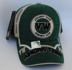 WEST VIRGINIA Baseball Cap Hat One Size Strapback by CITY HU