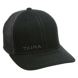 Ariat Western Mens Hat Baseball Cap Flex Mesh Black 1597501