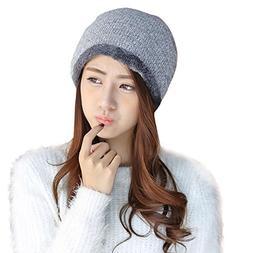 Byyong Women Fashion Winter Warm Cap Crochet Knit Knitted Be