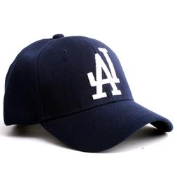 Women Men LA Dodgers <font><b>Baseball</b></font> Cap Unisex