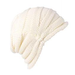Byyong Women Soft Stretch Warm Knit Messy High Bun Ponytail