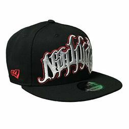 Sullen x New Era Men's Ferreira Snapback Hat Black Headwear