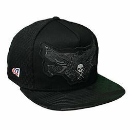 Sullen x New Era Men's Merica Snapback Hat Black Headwear Ba