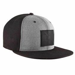 Metal Mulisha x New Era Men's Pitch Snapback Hat Black Gry B
