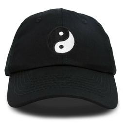 DALIX Ying Yang Dad Hat Baseball Cap Zen Peace Balance Philo