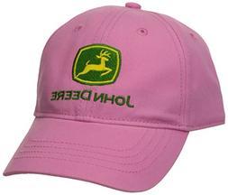 New JOHN DEERE ❤ Girl's Youth Pink Hat/Cap FREE FAST SHIPP