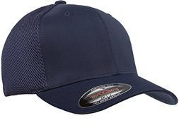 Yupoong 6533 Flexfit Tactel Mesh Cap - Navy - S/M